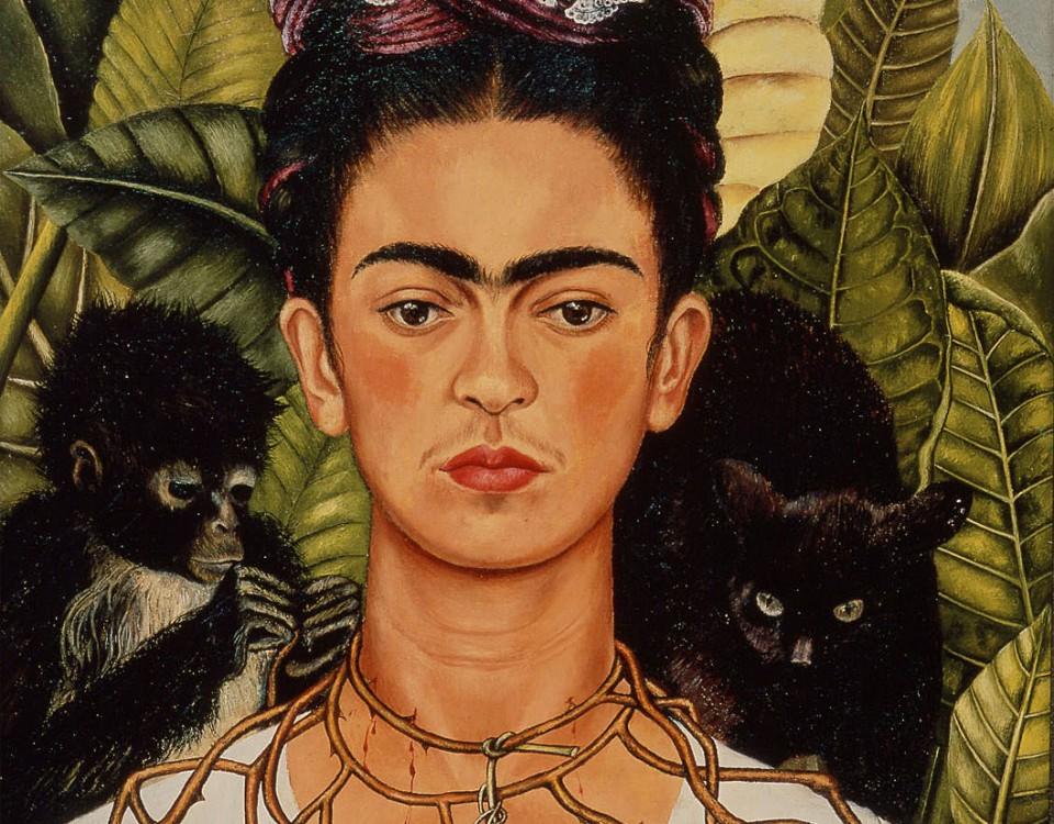 Auto-Retrato por Frida Kahlo